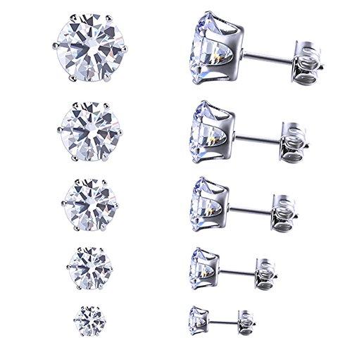 Morenitor Crystal Earrings Stainless Earring