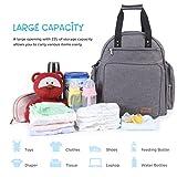 Lifewit Diaper Bag Backpack, Multifunction Travel