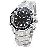 [LAD WEATHER] diver's GPS Manual/ Auto Sapphire Glass screw crown 200 Meters waterproof latitude Flight Mode Men's Dive watch