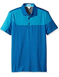 Calvin Klein Men's Short Sleeve Liquid Jersey Angled...
