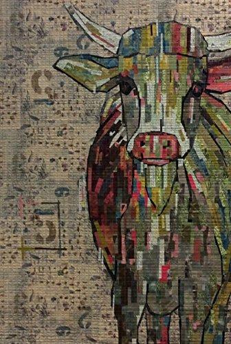 Amazon.com: Abilene Cow Collage Quilt Pattern By Laura Heine : photo collage quilt - Adamdwight.com