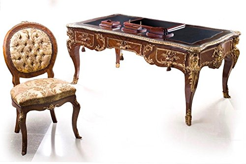 LouisXV escritorio de estilo antiguo barroco MoSr1535: Amazon.es ...