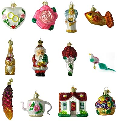 Old World Christmas Bride S Collection Ornament Box Set