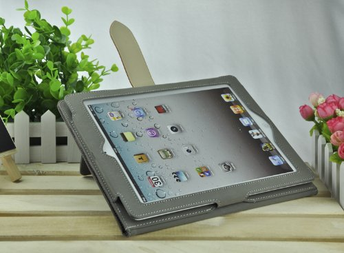 TOP Quality High-end PU Leather Case Cover for iPad 2/3/4, PU Leather Case for Apple iPad 2/3/4, New Case for iPad, Smart Cover Case for ipPad 2/3/4, PU Leather Stand Case for iPad (AHP000-3) 6~10 Days Fast Delivery