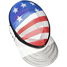 Fencing Epee Mask CE350N Certified National Grade by American Fencing Gear Medium