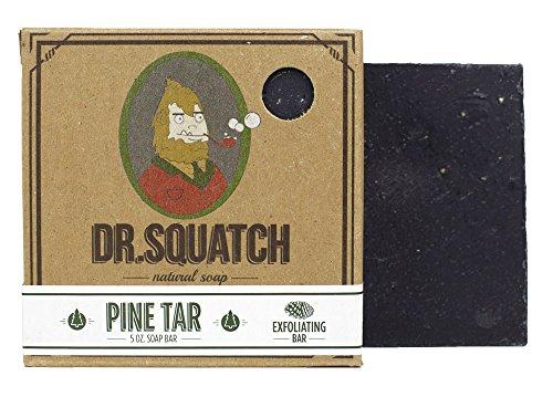 Dr. Squatch - Natural Bar Soap Pine Tar - 5 oz.