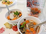 GotMeals Variety Pack - Chicken Tacos,Carrots with Bean Noodle,Sicilian Pasta Fagioli, Brussels Sprouts with Bacon