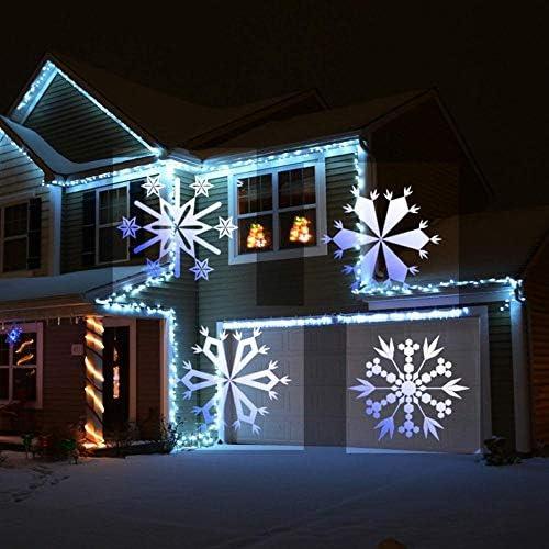 VOVOVO Led Projektor Weihnachten, mit 12 Diamustern 2-in-1-Projektorlicht-Taschenlampenmodus, Urlaubsprojektorlichter für Weihnachten, Ostern, Halloween, Geburtstag