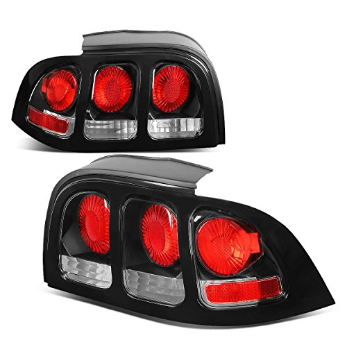 - For Ford Mustang SN95 Pair of Black Housing Altezza Tail Brake Lights
