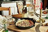 STAUB Cast Iron Enameled Frying Pan, 10-inch, Black