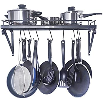 Cuisinart crhc 22b chef 39 s classic half circle for Kitchen s hooks for pots and pans