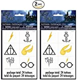 Harry Potter 24ct Temporary Tattoos - 2 Pack