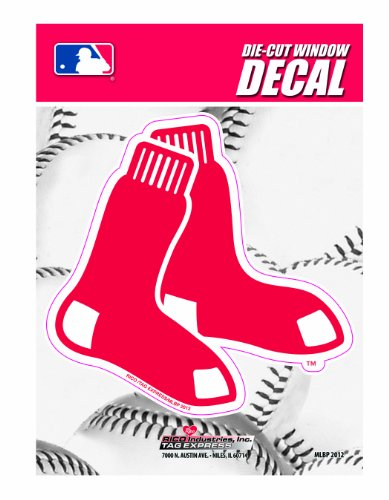 MLB Boston Red Sox Die-Cut Window Decal