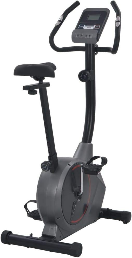 Nishore Bicicleta Estática Magnética con Pulsómetro Resistencia ...