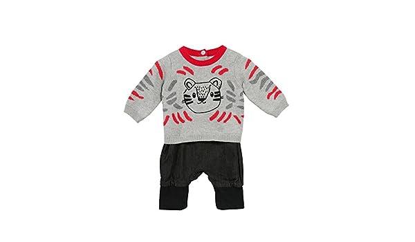 Catimini Top Tricot+Pant, Conjuntos de Pijama para Bebés, (Gris Chine 20), 3-6 Meses (Tallas De Fabricante: 3M): Amazon.es: Ropa y accesorios