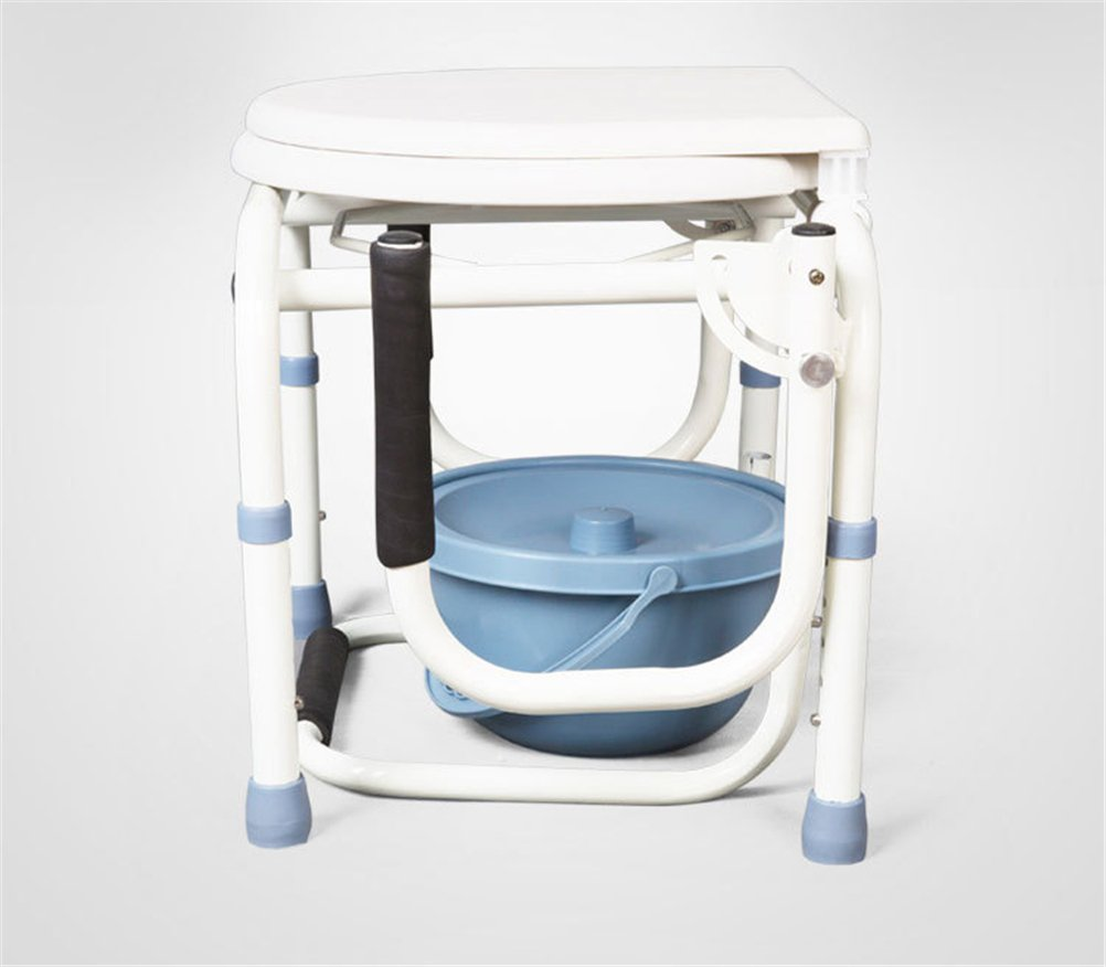 Amazon.com: GFYWZ Folding Commode Chair Healthcare Portable ...