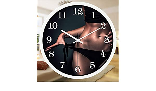 Amazon.com: Stylish Silent Wall Clock Home Kitchen Office ...