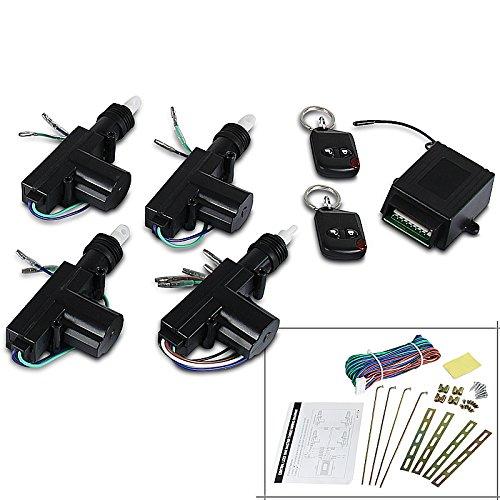 Spec-D Tuning CDS-110A Spec-D Power Central Lock Kit 2 Button