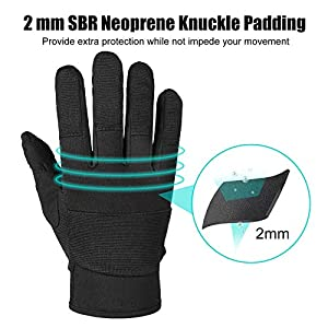 Synthetic Leather Work Gloves, Light Duty Work Gloves, Breathable and High Dexterity, Touchscreen Glove Black Medium 2 pairs (Color: Black, Tamaño: Medium)