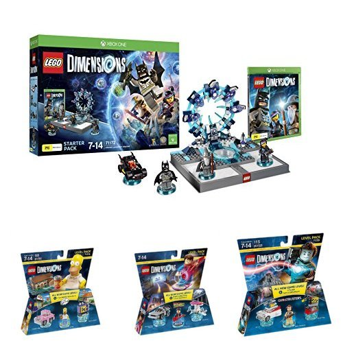 LEGO - Starter Pack Dimensions (Xbox One) + Level pack: Back To ...