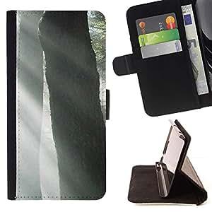 For Samsung Galaxy S3 III i9300 i747 Case , Planta Naturaleza Forrest Flor 53- la tarjeta de Crédito Slots PU Funda de cuero Monedero caso cubierta de piel