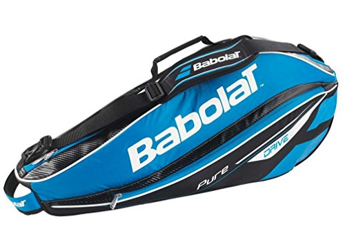 Babolat Pure Drive Holder X3 Racket Bag - Blue, One Size by Babolat (Babolat Racquet Holder)