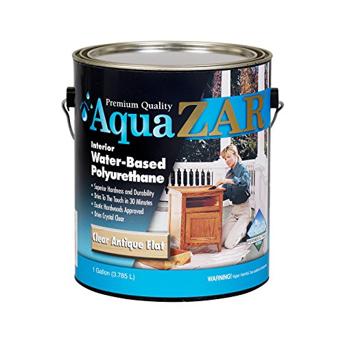 UGL Series 344 1G Antique Flat Aqua ZAR Water Based Polyurethane