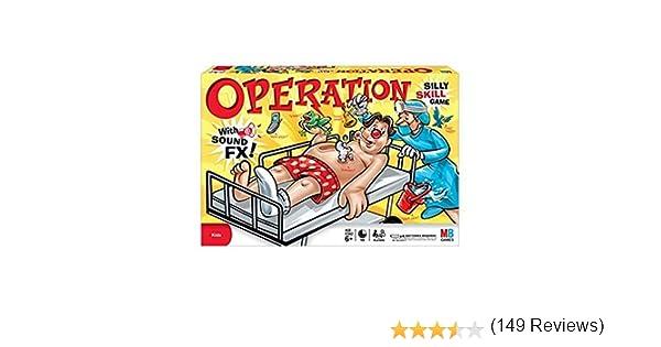 Operation - Juego de Operación [versión en Inglés]: Amazon.es: Juguetes y juegos
