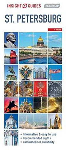 Insight Guides Flexi Map St Petersburg (Insight Flexi Maps)
