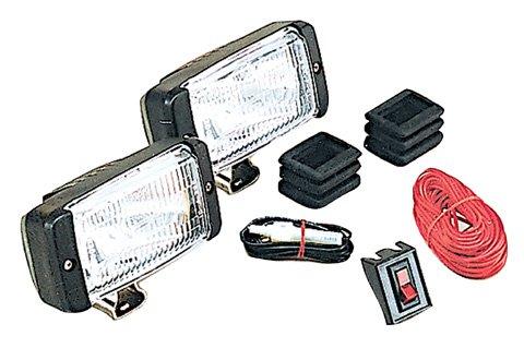 Optronics DL16CC 35W White Housing Docking Light Kit - Parts Unlimited Snowmobile