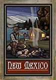 Best Tent Camping New Mexicos - New Mexico Lake Tent Camper Metal Print on Review