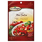 Mrs. Wages Hot Salsa Tomato Mix, 4.0 Ounce (Pack of 6)