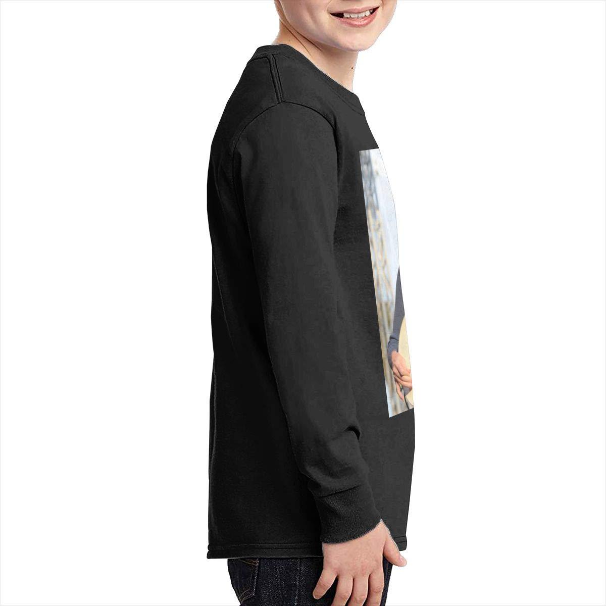 RhteGui Buckethead Boys /& Girls Junior Vintage Long Sleeve T-Shirt Black