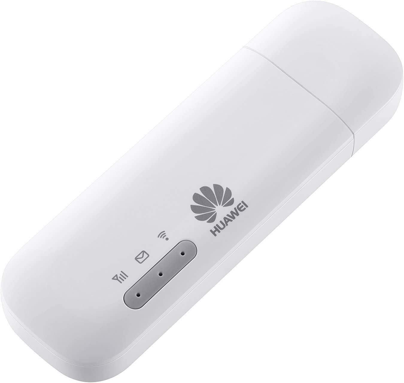 HUAWEI E8372h-320 - Dongle LTE/4G 150 Mb/s USB móvil wifi (Blanco) - Para usar con cualquier tarjeta SIM en todo el mundo. - Conecta hasta 16 ...
