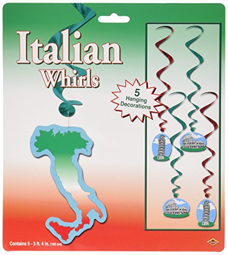 Beistle 57597 Italian Whirls Pkg