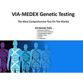 VIAMEDEX Health (Our DNA Test includes Disease, Carrier Status, Drug Response, Wellness, Traits and Addiction)