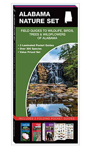 Alabama Nature Set: Field Guides to Wildlife, Birds, Trees & Wildflowers of Alabama