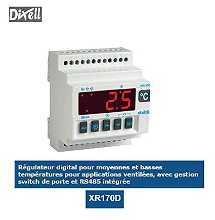 Controlador digital para mediana y bajas temperaturas xr170d de dixell