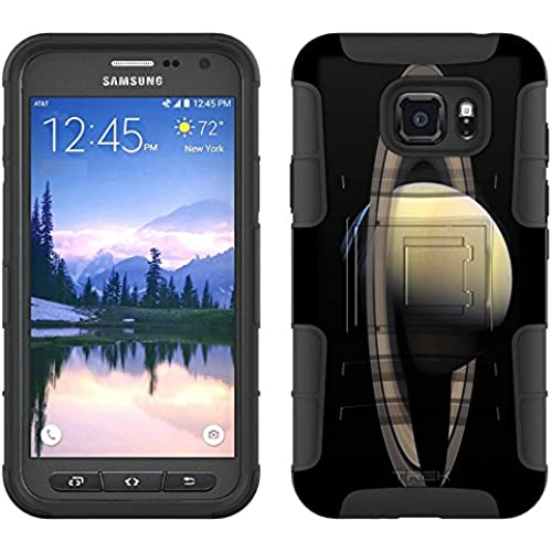 Samsung Galaxy S7 Active Armor Hybrid Case Planet Saturn 2 Piece Case with Holster for Samsung Galaxy S7 Active Sales