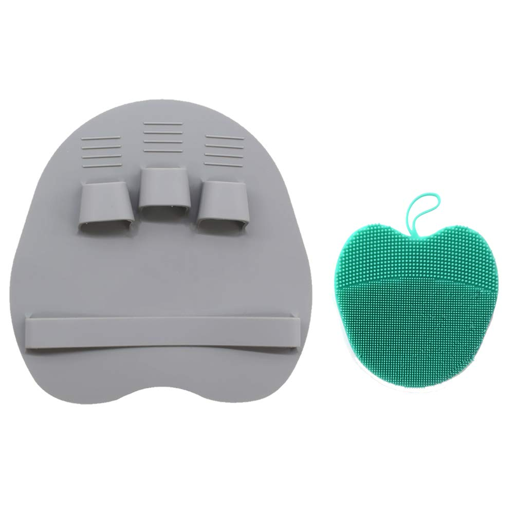 Just Silicone Heart Facial Cleansing Brush Face Washing Exfoliating Blackhead Brush Remover Skin Spa Scrub Pad Tool Elegant Appearance Skin Care Face Skin Care Tools