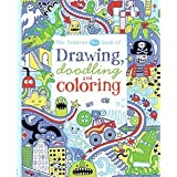 Usborne Blue Book of Drawing Doodling and Coloring by James MacLaine (2015-06-01)