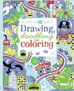 usborne blue book of drawing doodling and coloring by james maclaine 2015 06 01 james maclaine 9780794534431 amazoncom books - Usborne Coloring Books