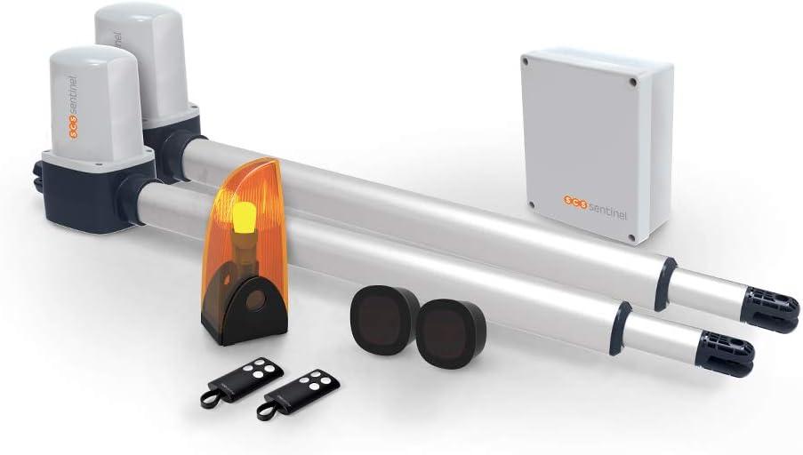 SCS Sentinel MVE0057 OpenGate1 Automatisme Motorisation Portail battant verin électrique OpenGate 1-MVE0057, Gris