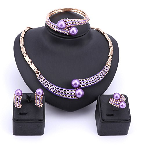 Fashion Simulated Necklace Earrings Crystal product image