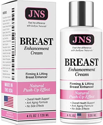 Breast Enhancement Cream - Powerful Lifting & Plumping Formula for Breast Growth & Enlargement - Upsize Cream Made in USA for Bust Increase & Pump Up Breast - Natural Bust Enhancement
