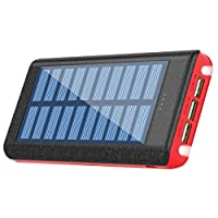solar charger,Ruipu 24000mah power bank ...