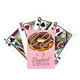 beatChong Chocolate Doughnut Western Dessert Poker Playing Card Tabletop Board Game Gift