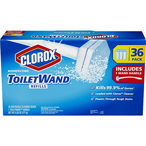 Product of Clorox Toiletwand with 36 Disposable Cleaning Heads - Cleaning Tools [Bulk Savings]