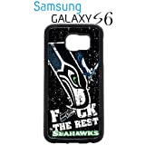 Seattle Seahawks Samsung Galaxy s6 Case Hard Silicone Case