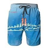 9-11I Will Never Forget Fashion Men's Summer Beach Boardshort Shorts Swim Trunks
